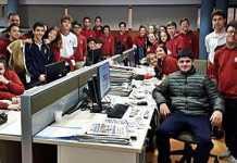 Estudiantes de Sa Real visitan Diario de Ibiza