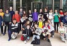 Estudiantes del instituto Sa Blanca Dona visitan Es Diari