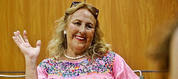 Cristina Rubalcava, pintora y compositora: Ibiza, la sencillez de la naturaleza