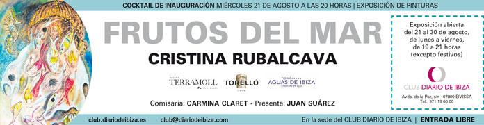 Exposición Frutos del Mar de Cristina Rubalcava