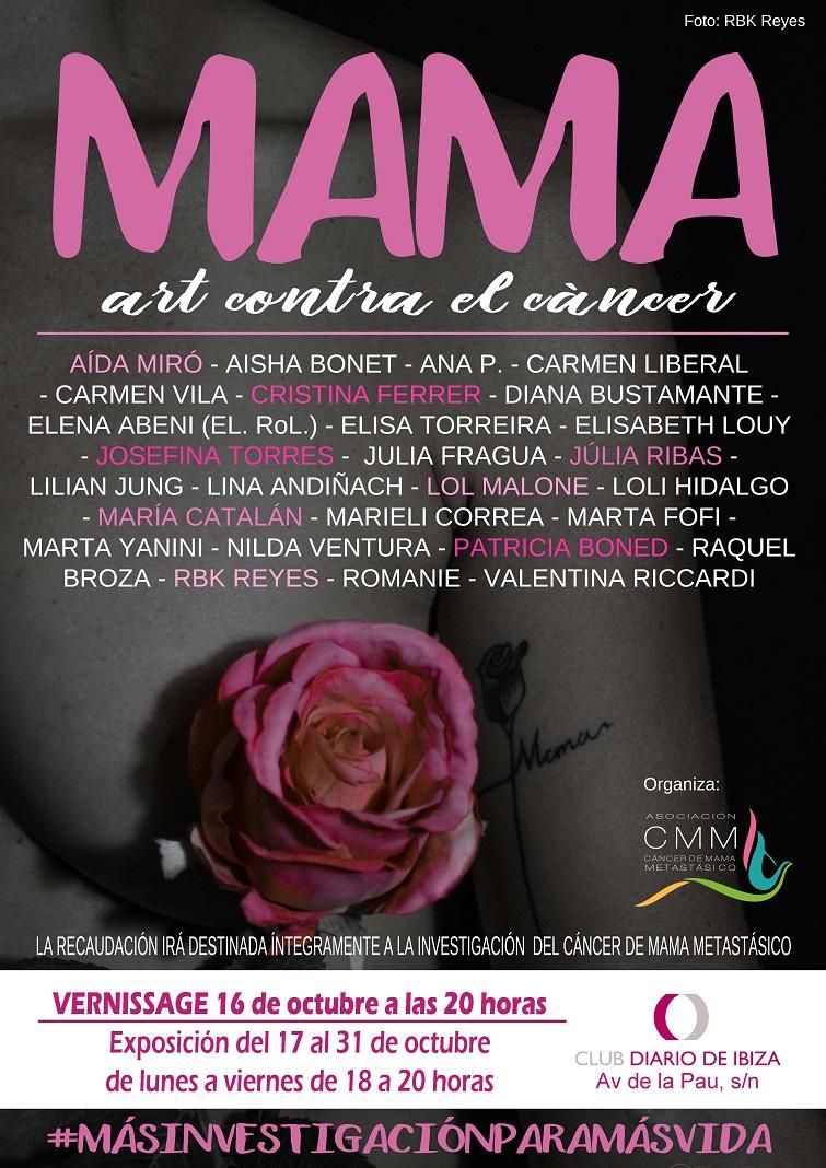 Art contra el cáncer Club Diario de Ibiza