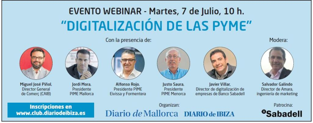 Foro online digitalización empresas - Diario de Ibiza