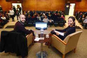 Aurens, Conferencia duelo Club Diario