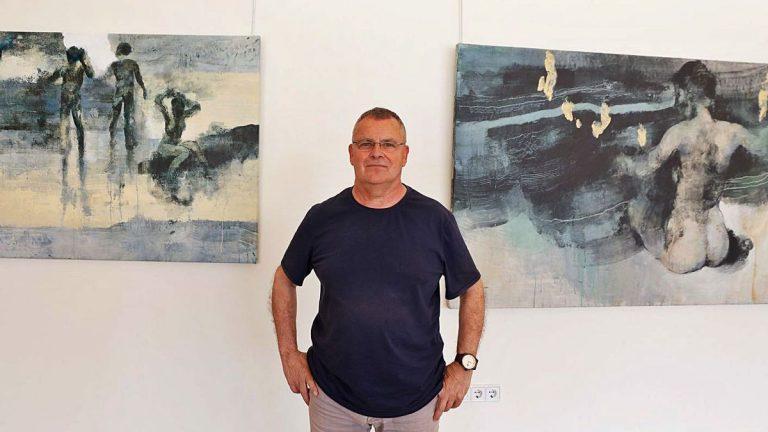 José Manuel Menéndez Rojas: «Para mí la pintura es un método de aprendizaje constante»